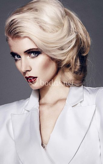 Maquillaje sofisticado intenso