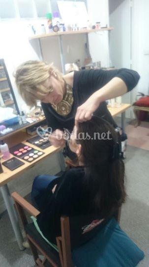 Diseñando un maquillaje