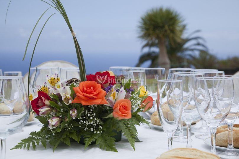 Detalle de la boda
