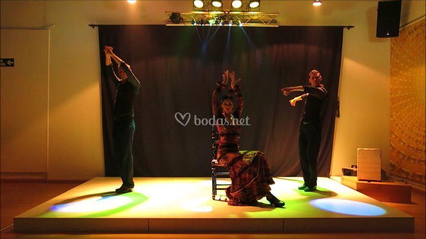 Espectáculo Flamenco 3Tacones