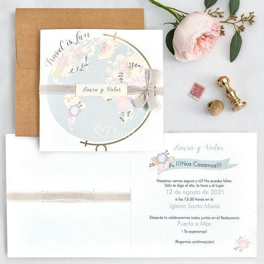 Invitación de boda 39702