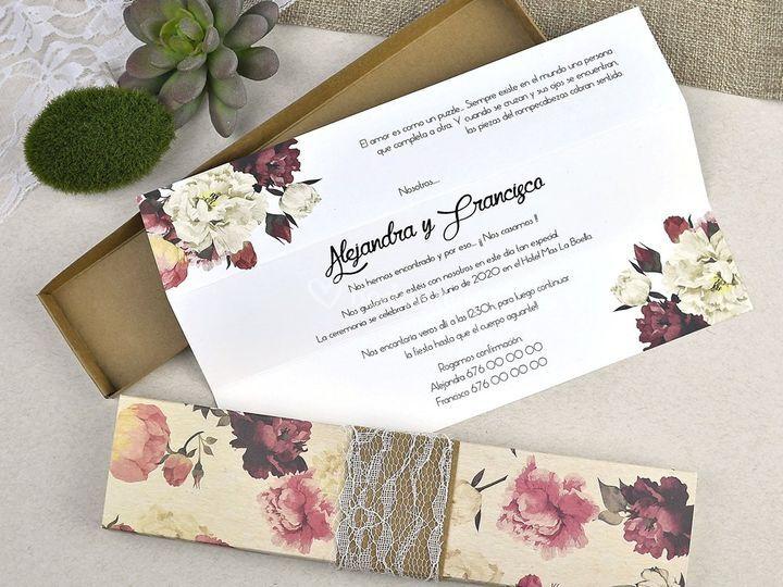 Invitación de boda 39601
