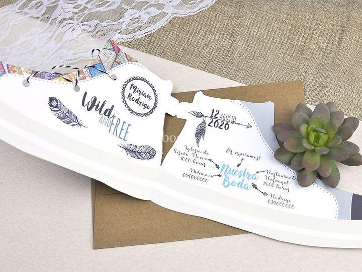 Invitación de boda 39605b