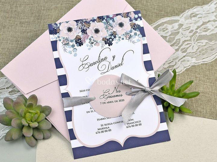 Invitación de boda 39609