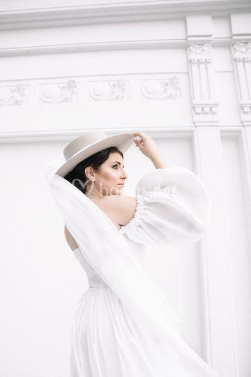 La novia y el sombrero