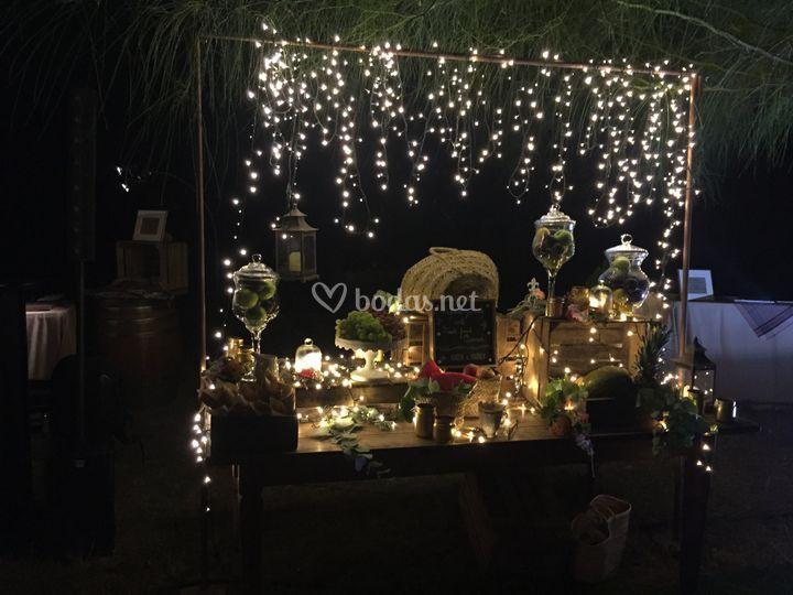 Iluminación decorativa bufes