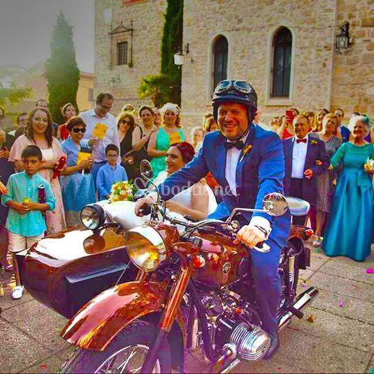 Sidecar para bodas