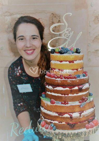 Tarta de boda para 50 personas