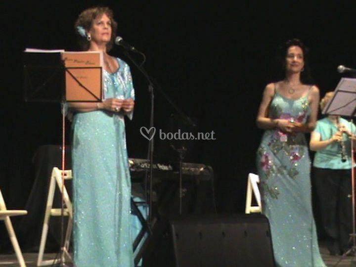 Concierto de Habaneras en la Expo 2008 (soprano, mezzo, oboe y piano)