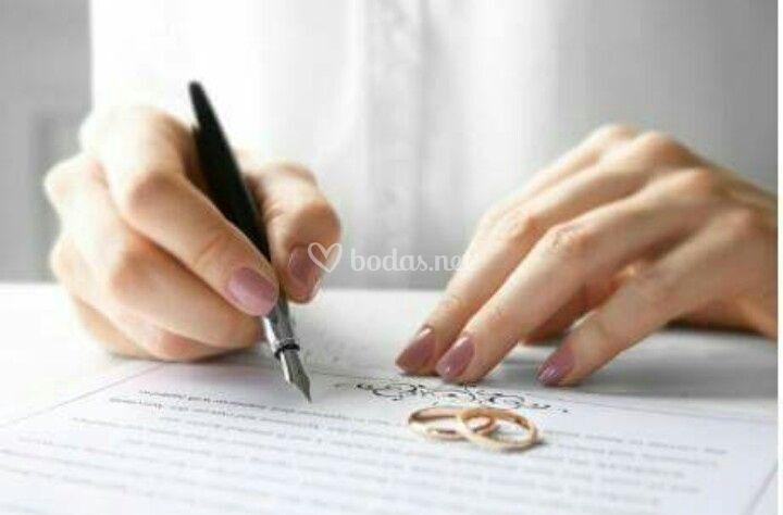 Bodas ante notario
