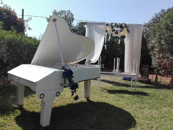 Piano de boda