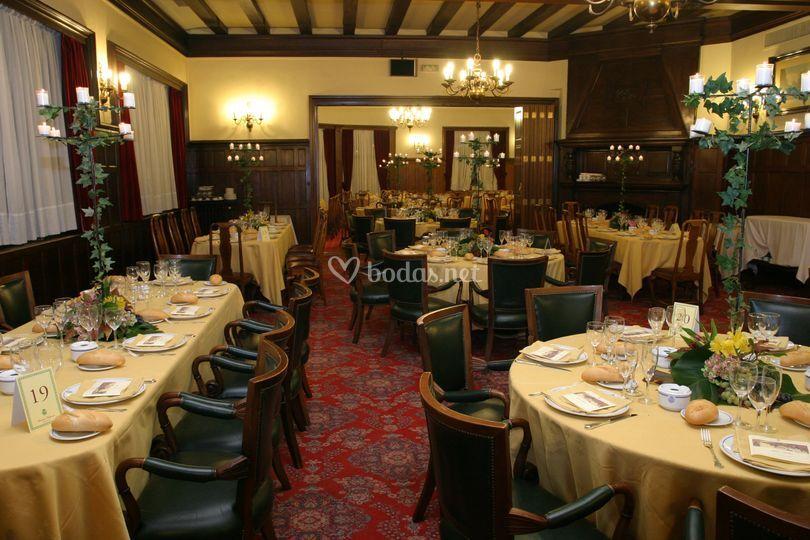 Banquete en el Salón Inglés