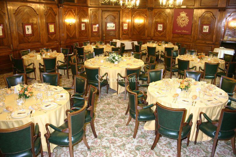 Banquete en el Salón Francés