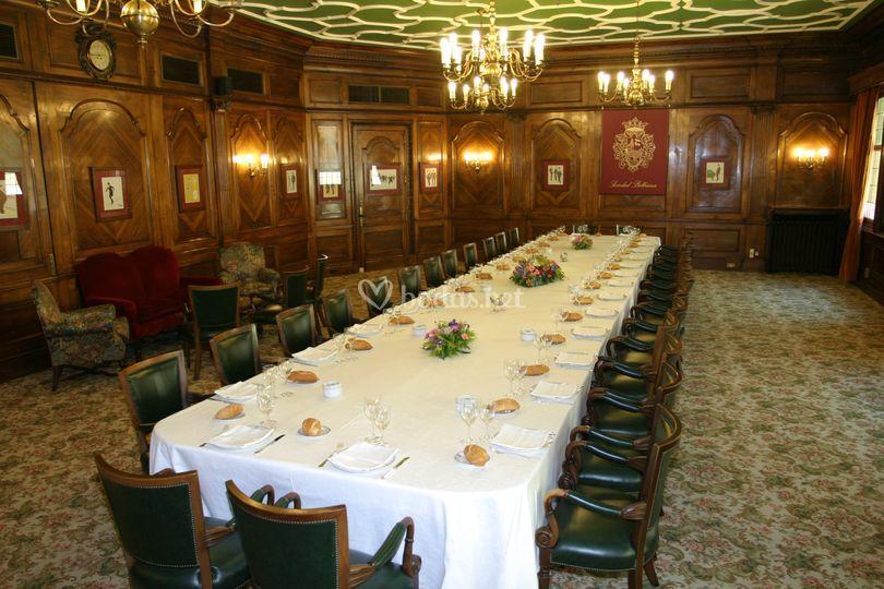 Mesa Imperial en el Salón Francés