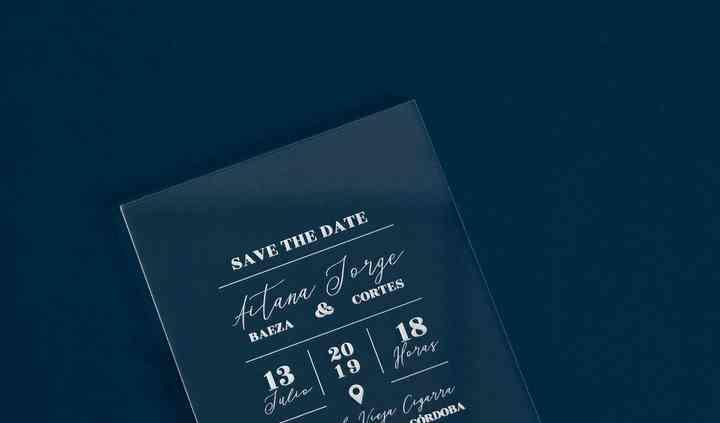 Invitación transparente