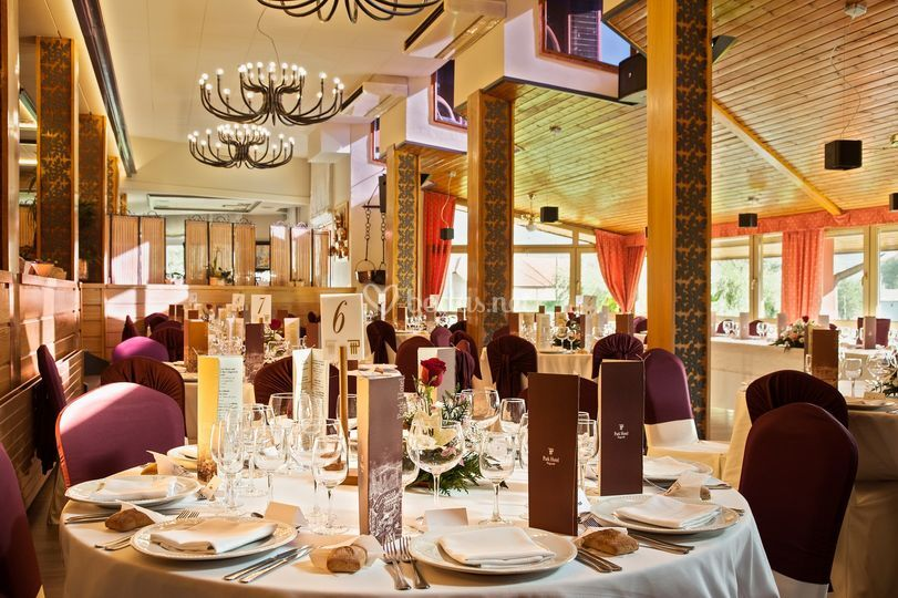 Montaje restaurante boda