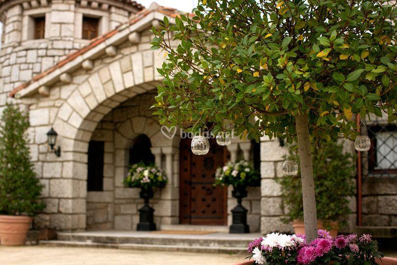 Detalles de la decoración exterior