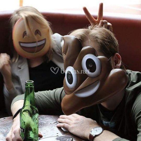 Máscaras emoji whatsapp