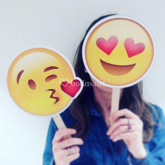 Emoji photocall