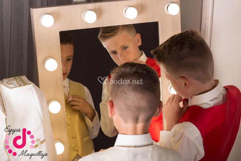 Espejo nórdico