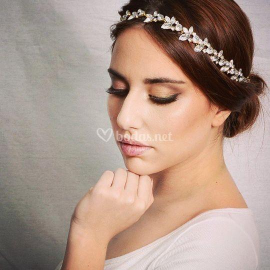 Maquillaje novia intenso