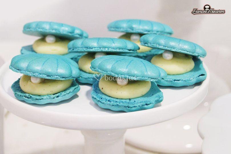 Macarons con formas