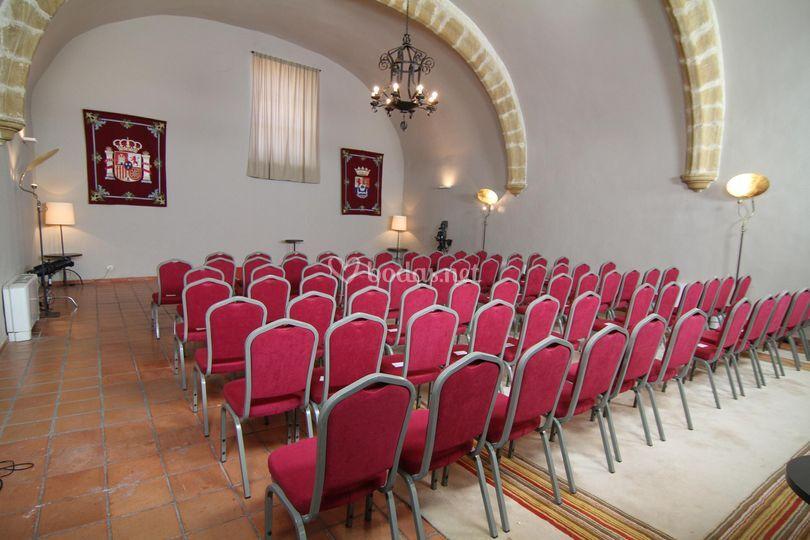 Salón reuniones (montaje en teatro)