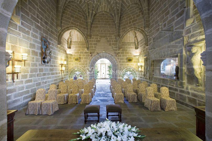 Ceremonia en Sala Capitular