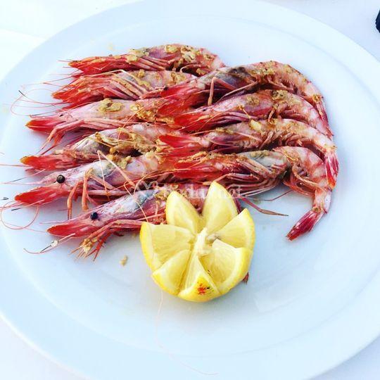 Gamba roja de Menorca