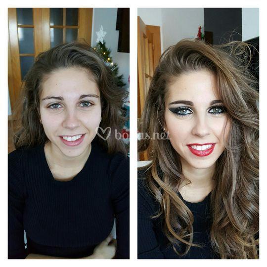 Maquillaje pasarela