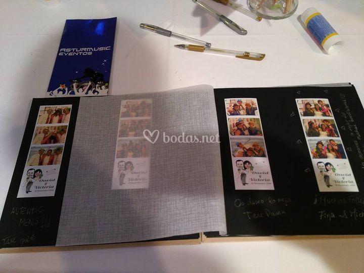 Libro con fotos