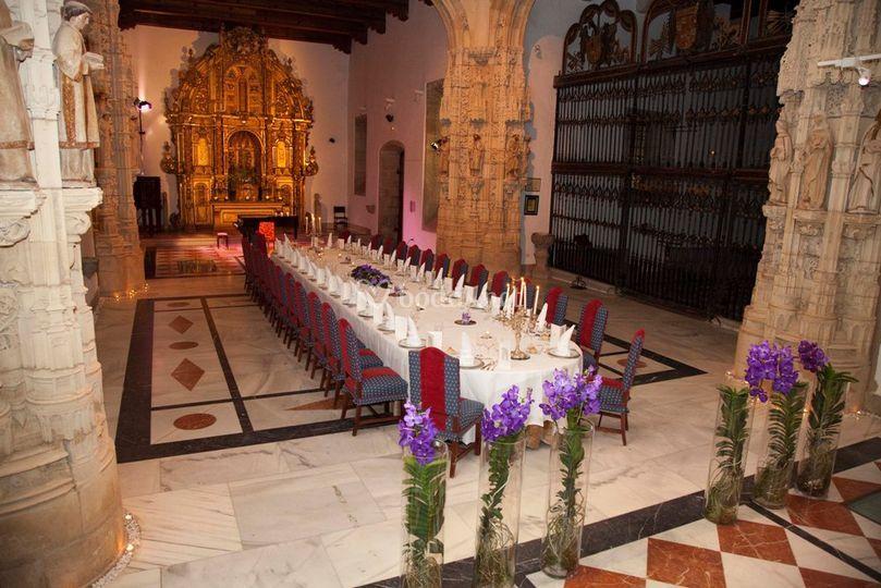 Capilla mesa imperial