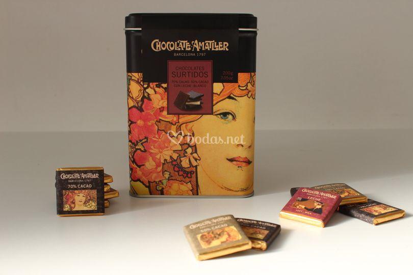 Chocolatinas para el café