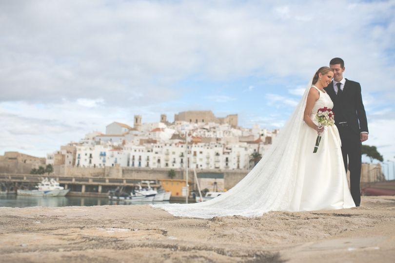 Post-boda Peñiscola