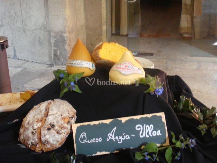 Buffet de quesos gallegos