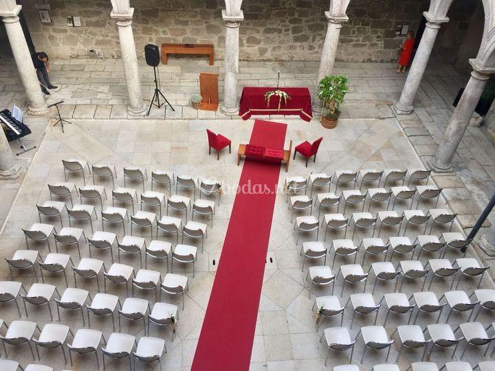 Ceremonia civil en Viveiro