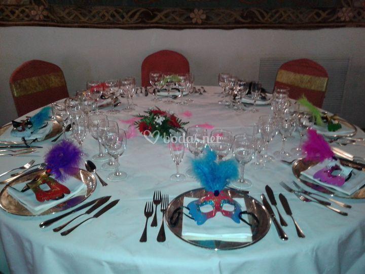 Mesa para banquete