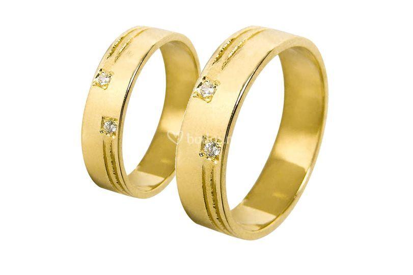 Alianzas Oro Amarillo A1033A