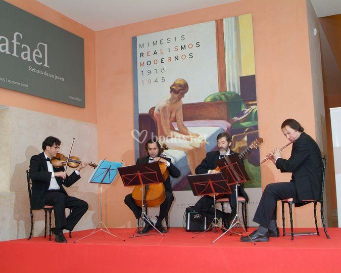 Cuarteto instrumental