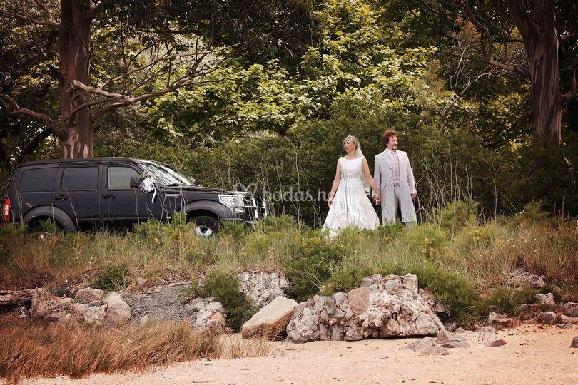 Vehículo para bodas