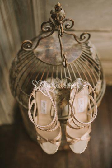 Zapatos de la novia