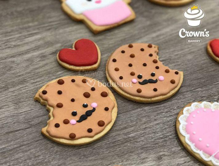Recordatorio de boda: galletas