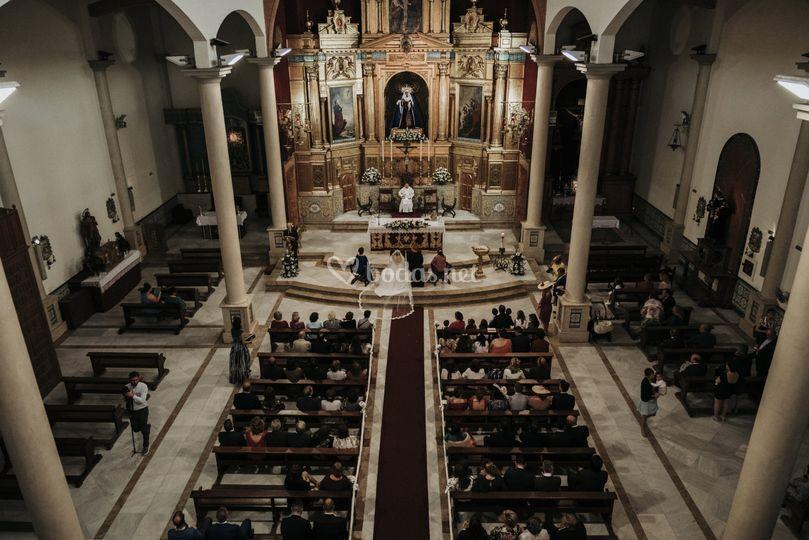 Panorámica de Iglesia.
