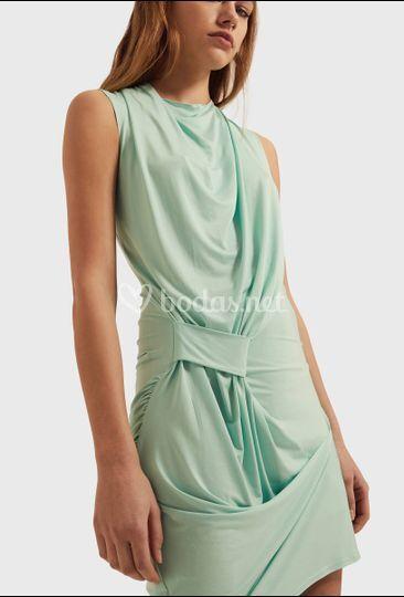Vestido menta