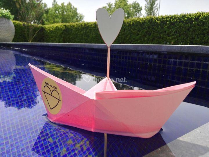 Barco con mucho love