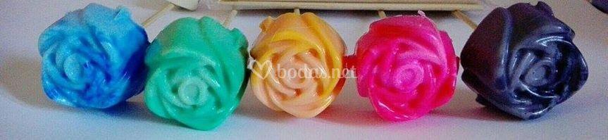 Rosas con aroma a rosa