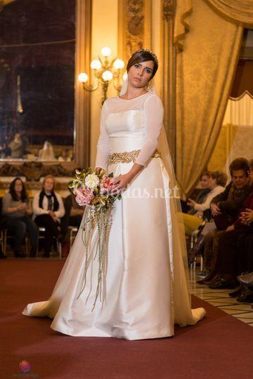 vestido novia. beatriz alvaro de tuca román | foto 39