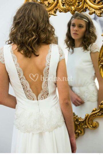 vestido bohemio de tuca román | foto 2