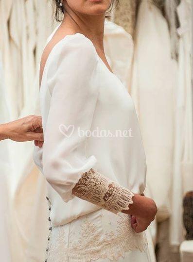 Vestido de Beatriz Alvaro