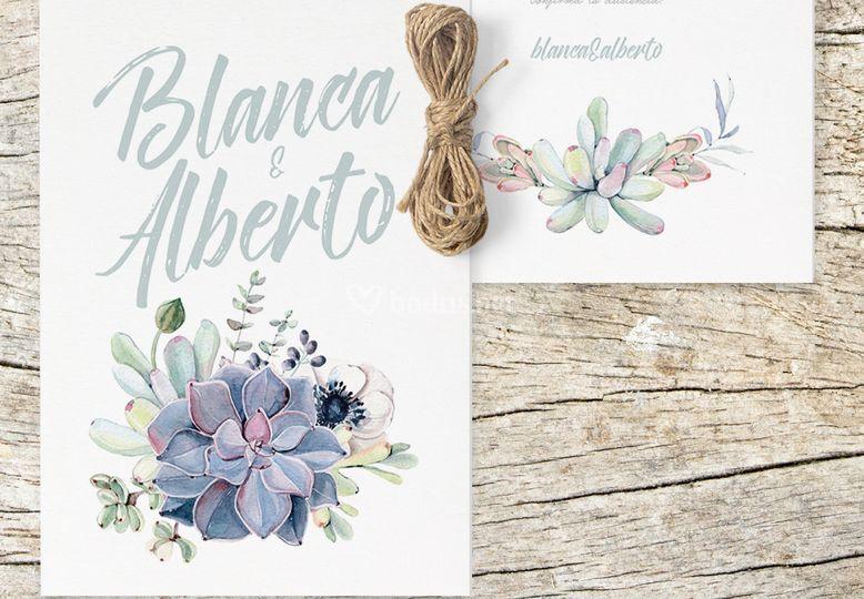 Blanca y Alberto